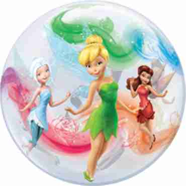 disney fairies single bubble 22in/55cm