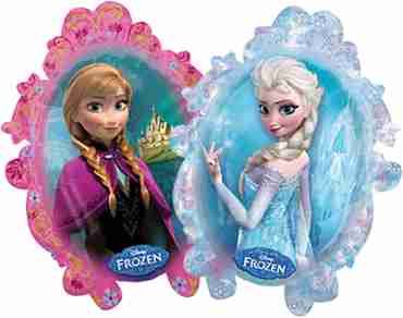 disney frozen foil shape 25in/63cm x 31in/78cm