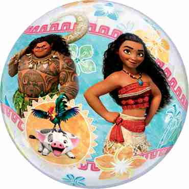 disney moana single bubble 22in/55cm