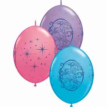 disney princess fashion robins egg blue, fashion rose and fashion spring lilac assortment quicklink 12in/30cm