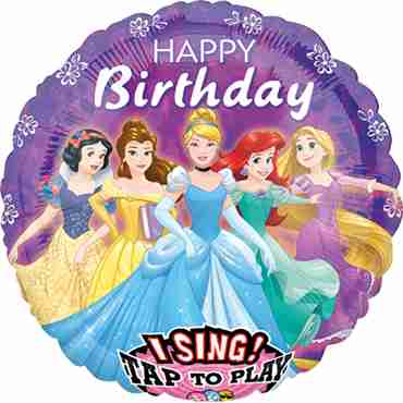 Disney Princess Sing A Tune Foil Round 28in/71cm