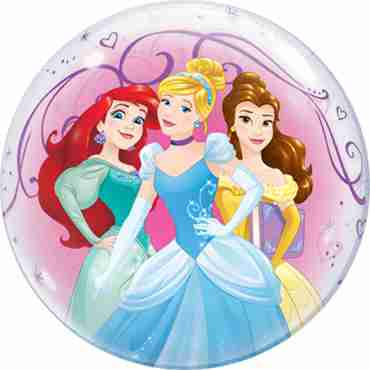 Disney Princesses Single Bubble 22in/55cm