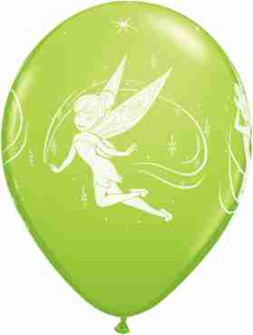 Disney Tinker Bell Fashion Lime Green Latex Round 11in/27.5cm