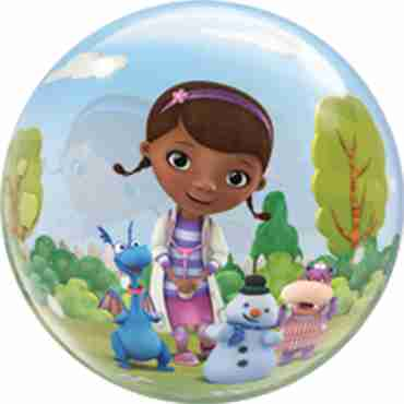 Doc McStuffins Single Bubble 22in/55cm