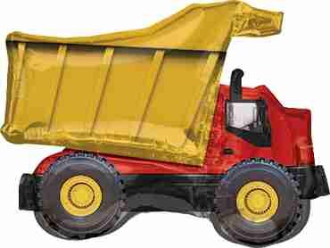 Dump Truck Foil Shape 32in/81cm