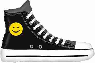 Emoji Sneaker Foil Shape 31in/79cm
