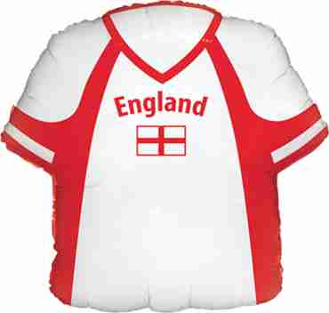England Shirt Foil Shape 22in/55cm