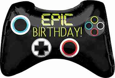 Epic Party Game Contoller Foil Shape 28in/71cm