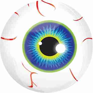 Eyeball Orbz 15in/38cm x 16in/40cm