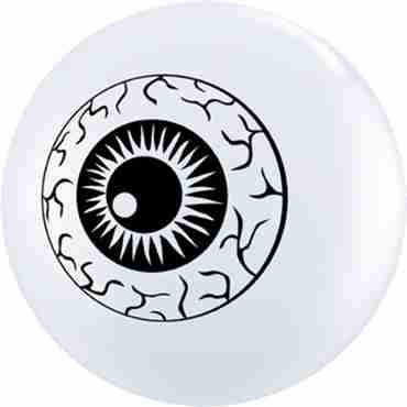 eyeball topprint standard white latex round 5in/12.5cm