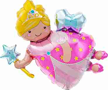 fairy godmother foil shape 14in/35cm