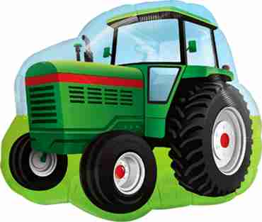 farm tractor foil shape 34in/85cm