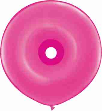 fashion wild berry geo donut 16in/40cm