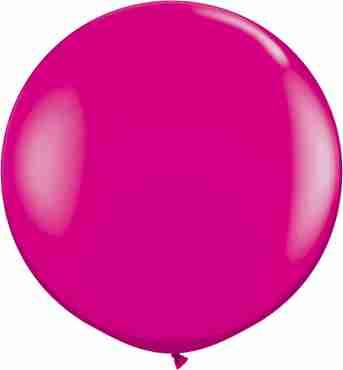 Fashion Wild Berry Latex Round 36in/90cm
