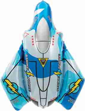 fighter jet foil shape 31cm/79cm