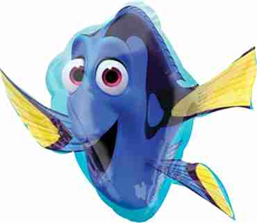 finding dory foil shape 30in/76cm x 30in/76cm