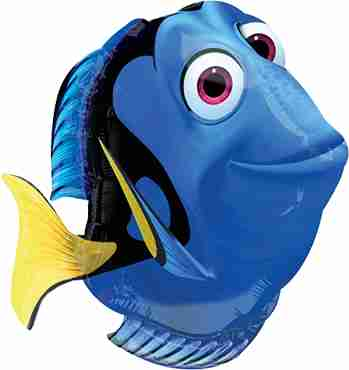 Finding Dory Vendor Foil Shape 20in/50cm x 24in/60cm