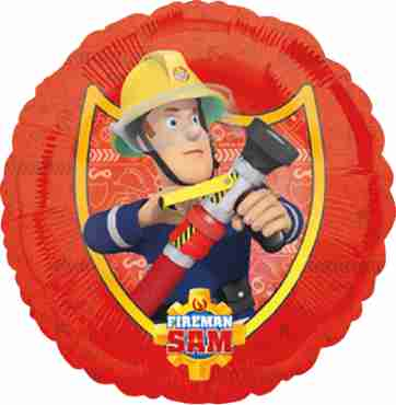 Fireman Sam Foil Round 18in/45cm