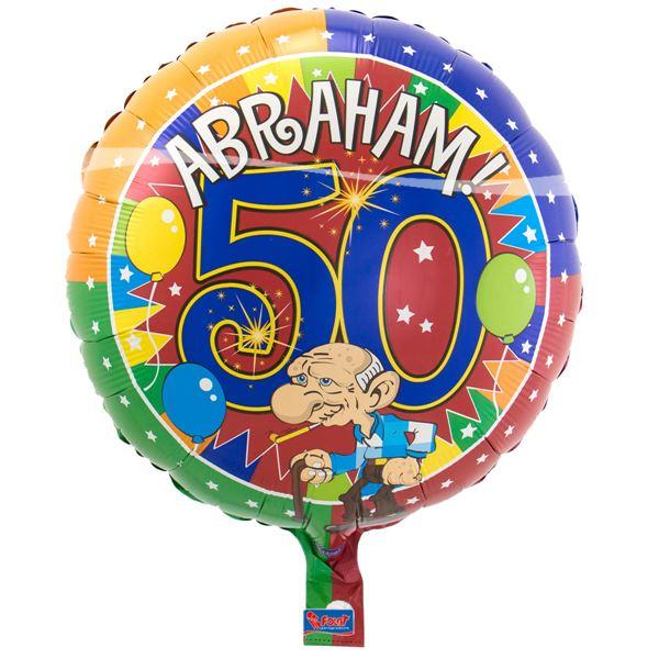 Folieballon Abraham