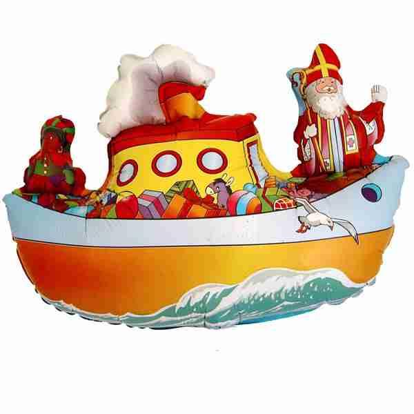 folieballon microfoil pakjesboot 35cm