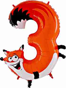 Fox Number 40in/100cm