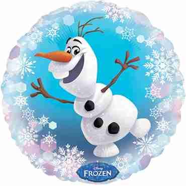 Frozen Olaf Foil Round 18in/45cm