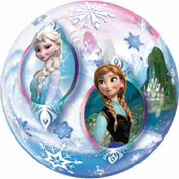 Frozen Single Bubble 22in/55cm