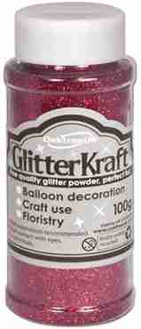 Glitter Kraft Burgundy Glitter Pot 100g