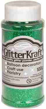 Glitter Kraft Emerald Glitter Pot 100g