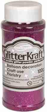 Glitter Kraft Fuchsia Glitter Pot 100g