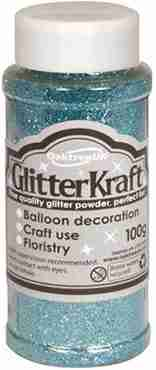 Glitter Kraft Light Blue Glitter Pot 100g