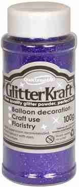 Glitter Kraft Purple Glitter Pot 100g