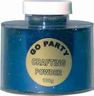 Glitter Pot Sapphire Blue 100g