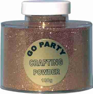 Gold Glitter Pot 100g