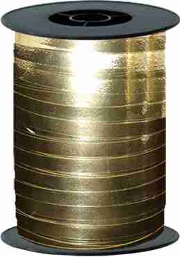 Gold Metallic Curling Ribbon 10mm x 250m