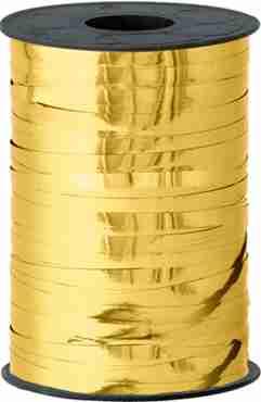 Gold Metallic Curling Ribbon 5mm x 250m