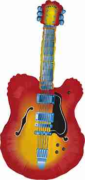 Guitar Foil Shape 43in/109cm