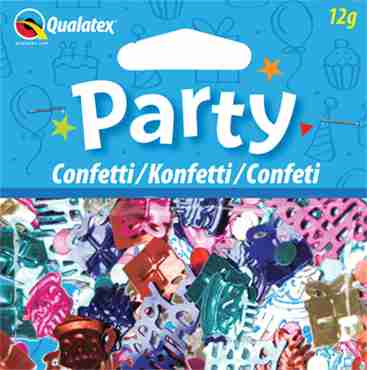 Happy Birthday Multi-Coloured Confetti 12g