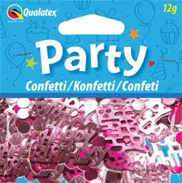 Happy Birthday Pink Confetti 12g