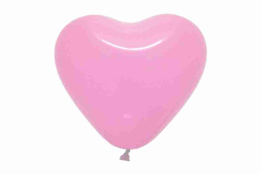 Hartballon 25cm babyrose