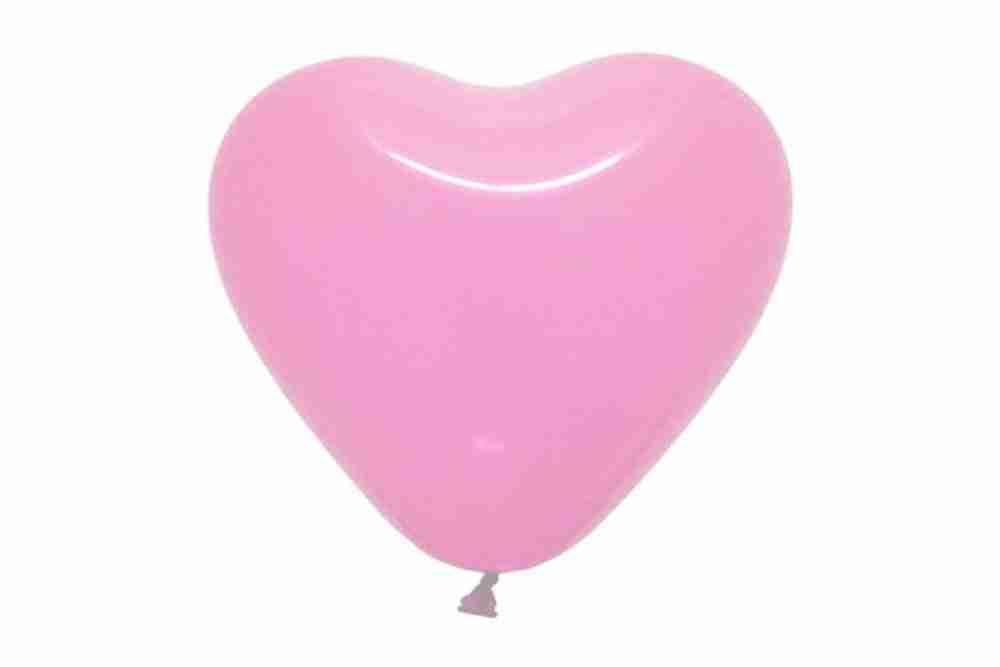 Hartballon 40cm babyrose