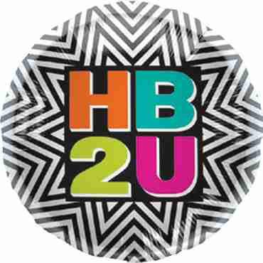 HB2U Burst Foil Round 18in/45cm