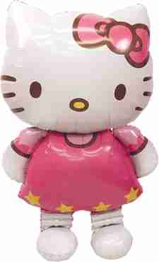 hello kitty airwaker 30in/76cm x 50in/127cm