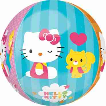 hello kitty orbz 15in/38cm x 16in/40cm