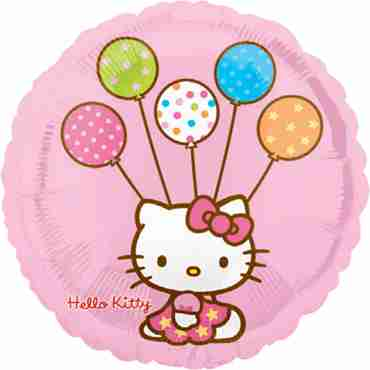 Hello Kitty Vendor Foil Round 18in/45cm