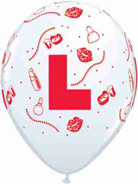 Hen Night L Standard White Latex Round 11in/27.5cm