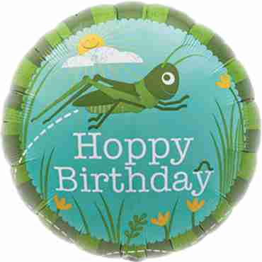 Hoppy Birthday Foil Round 18in/45cm