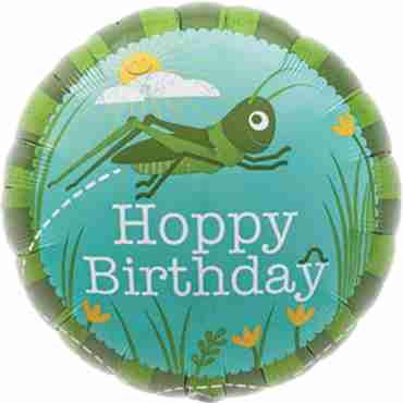Hoppy Birthday Foil Round 18in/45cm