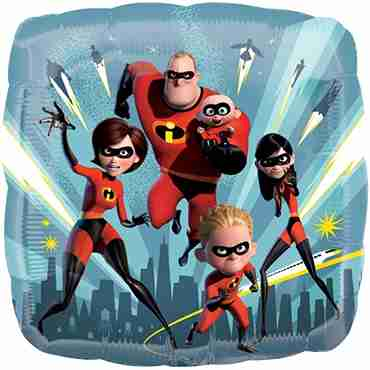 Incredibles 2 Foil Square 18in/45cm