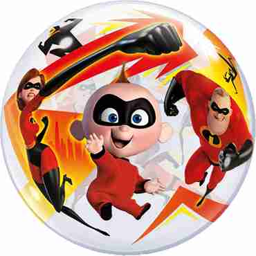 Incredibles 2 Single Bubble 22in/55cm